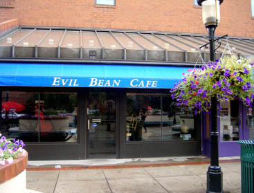 Evil Bean Café in Denver, Colorado