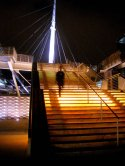 Millennium Bridge-The Millennium Bridge, Denver, Colorado (thumbnail)